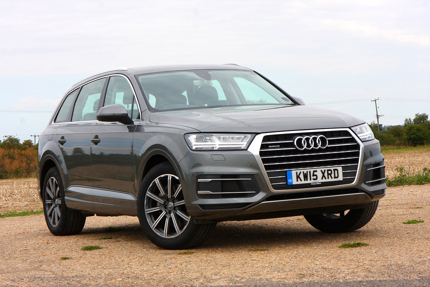 audi q7 suv review 2015 parkers. Black Bedroom Furniture Sets. Home Design Ideas