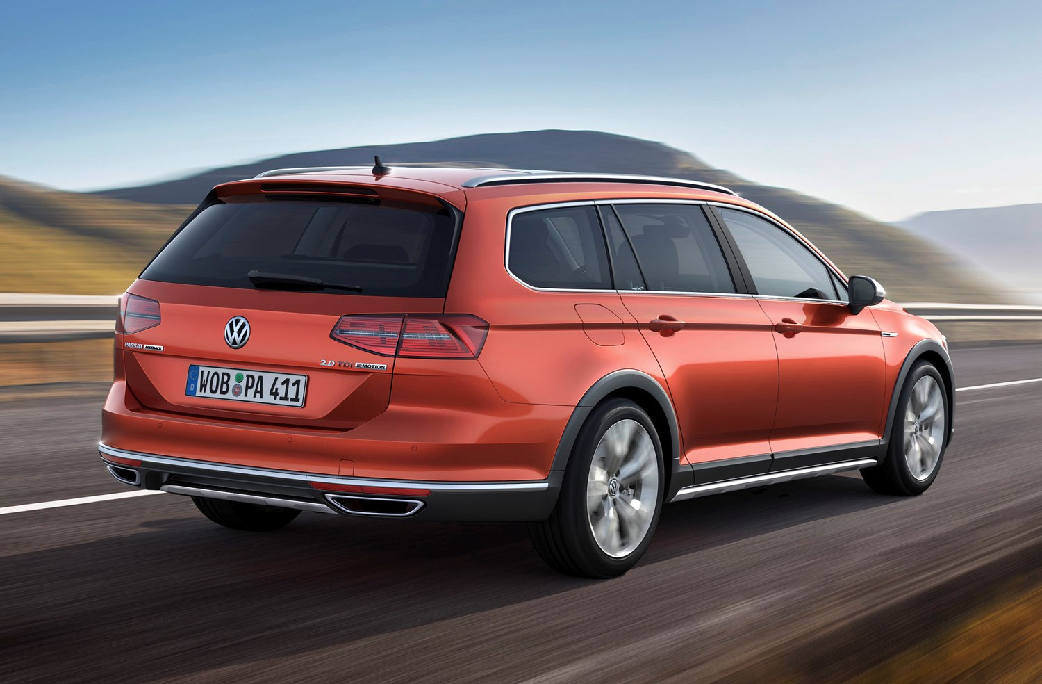 volkswagen passat alltrack review 2015 parkers. Black Bedroom Furniture Sets. Home Design Ideas