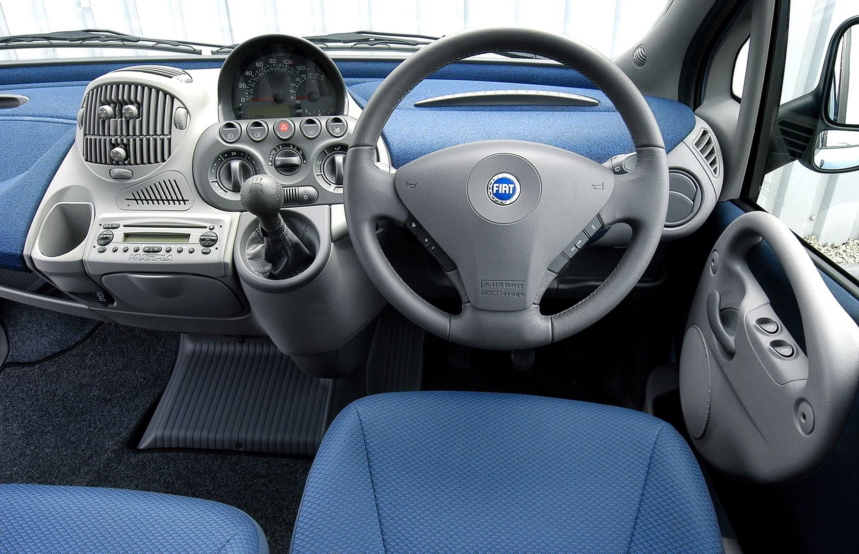 Fiat multipla interior
