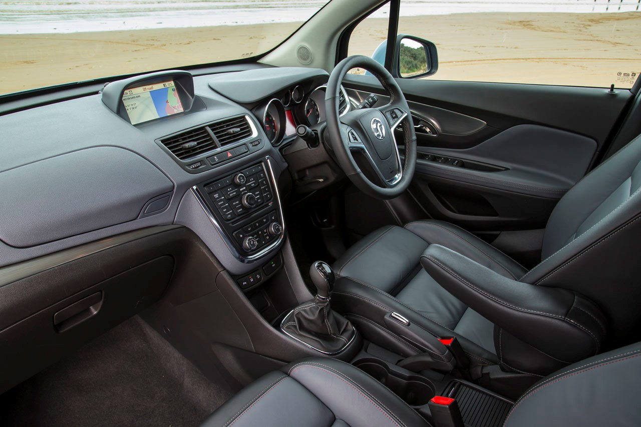 Vauxhall Mokka interior