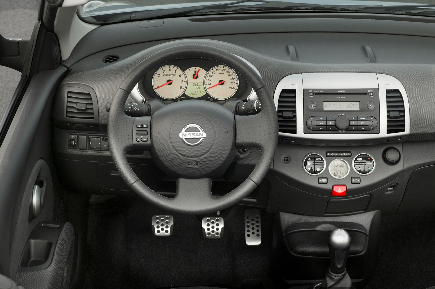 nissan micra c c 2005 2009 features equipment and. Black Bedroom Furniture Sets. Home Design Ideas