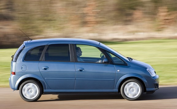 Vauxhall Meriva Estate Review 2003 2010 Parkers