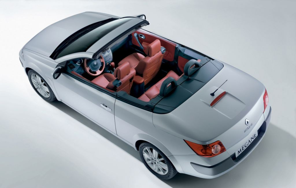 renault megane cabriolet review 2003 2005 parkers. Black Bedroom Furniture Sets. Home Design Ideas