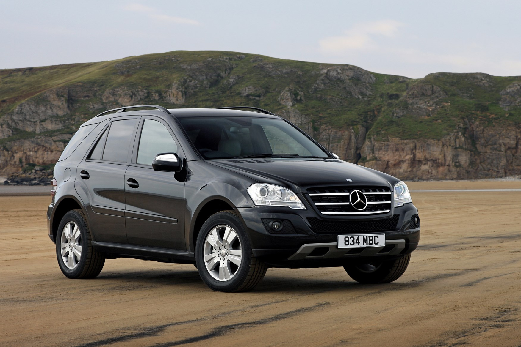 test ml mercedes road reviews review l benz suv driving with created rapha bluetec