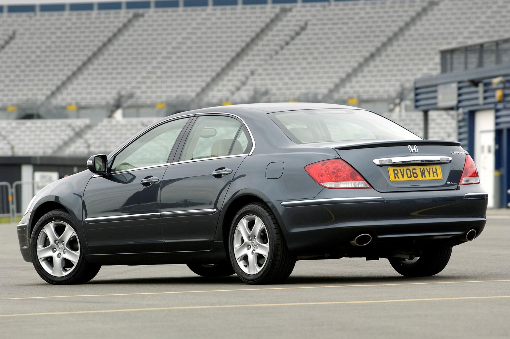 2007 Honda Civic For Sale >> Honda Legend Saloon (2006 - 2007) Rivals | Parkers