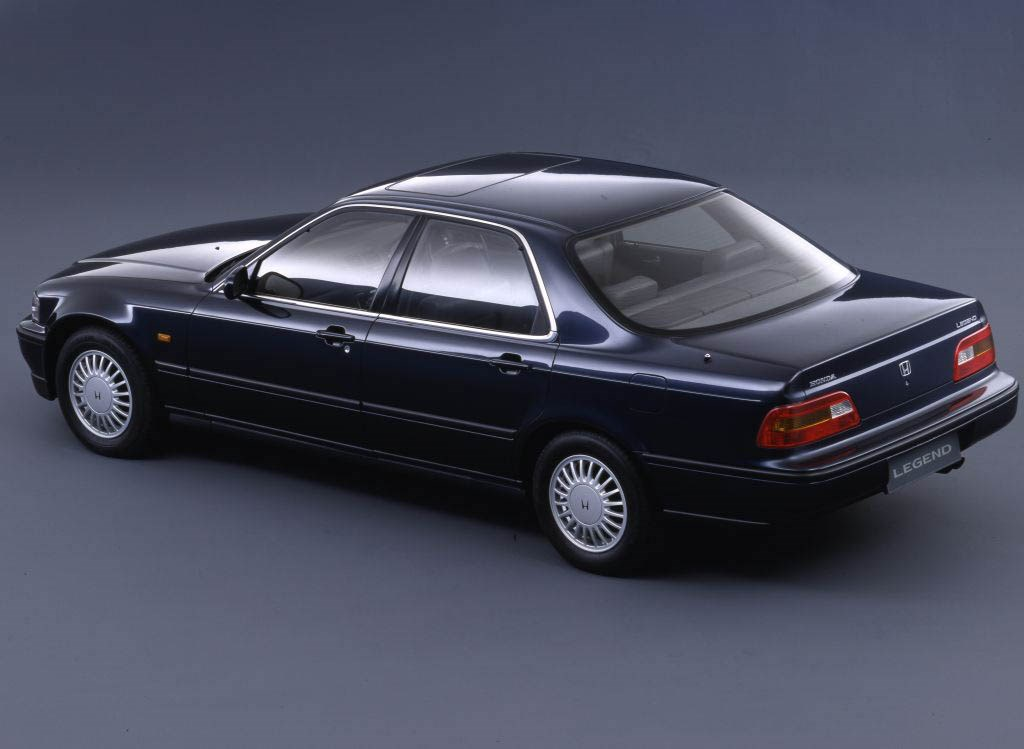 Used Honda Legend Saloon 1991 2004 Practicality Parkers