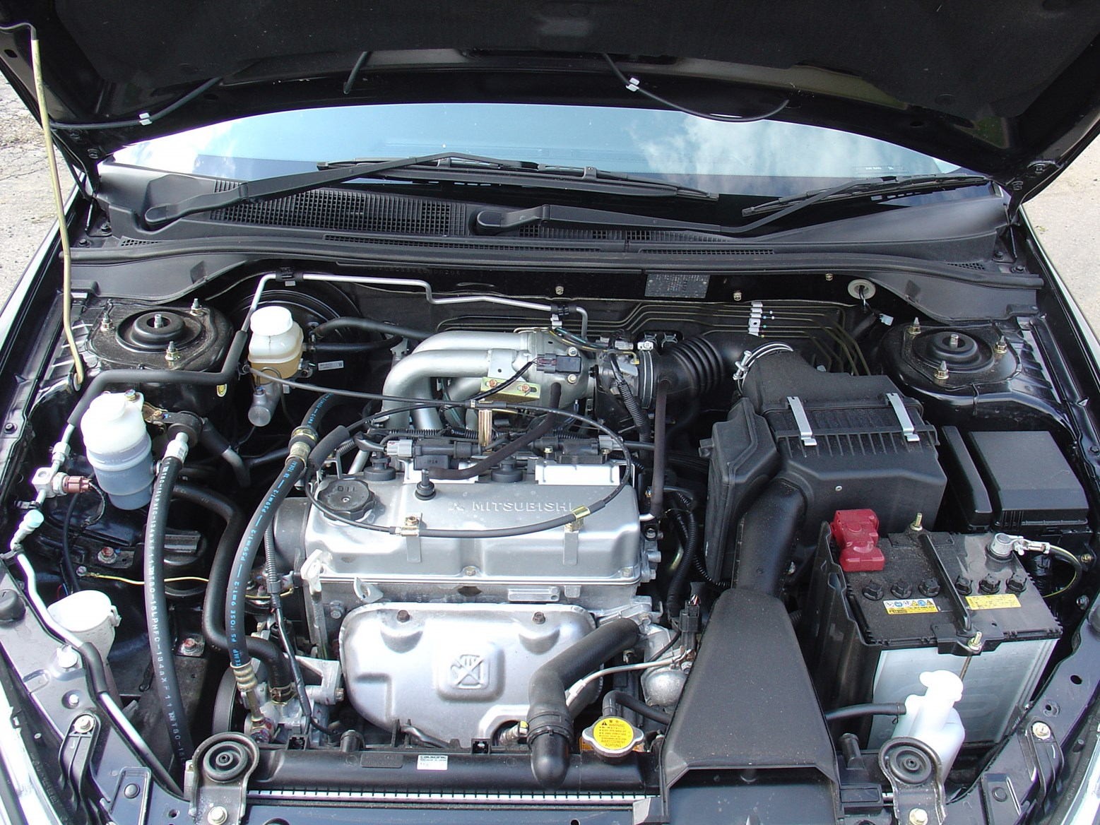 Dsc on 2008 Mitsubishi Lancer Engine
