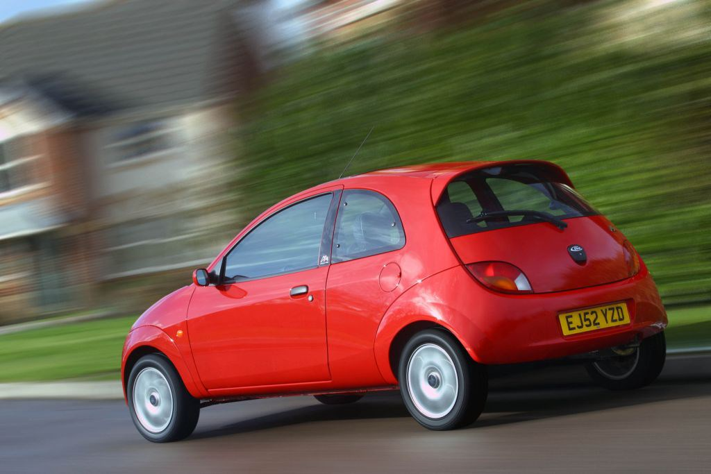 ford ka hatchback 1996 2008 rivals parkers. Black Bedroom Furniture Sets. Home Design Ideas