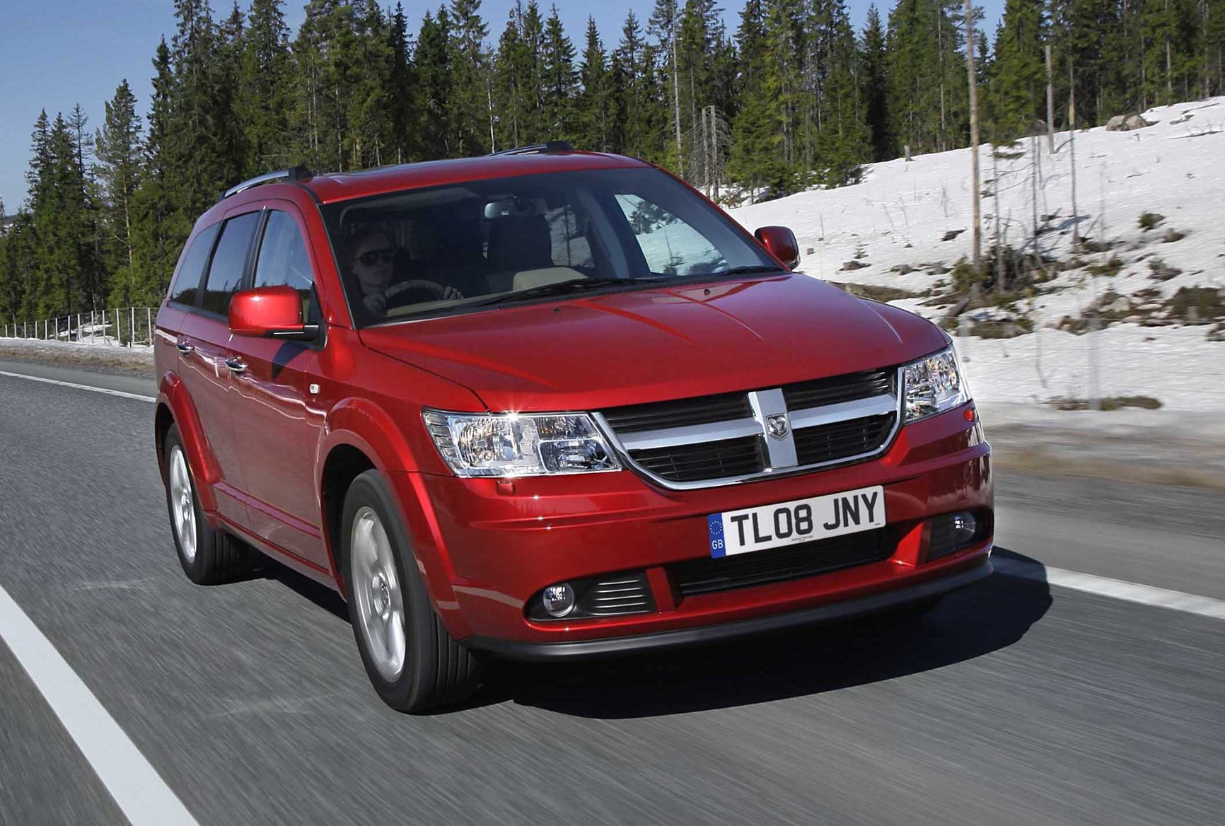 dodge journey estate review 2008 2010 parkers. Black Bedroom Furniture Sets. Home Design Ideas