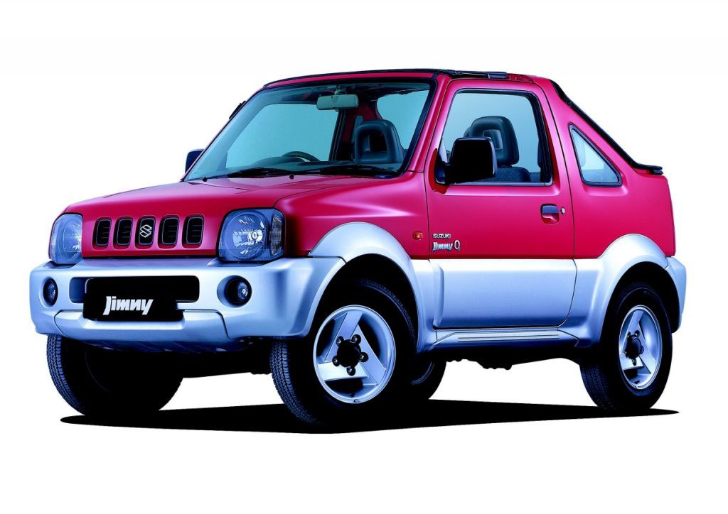 suzuki jimny soft top review 2000 2005 parkers. Black Bedroom Furniture Sets. Home Design Ideas