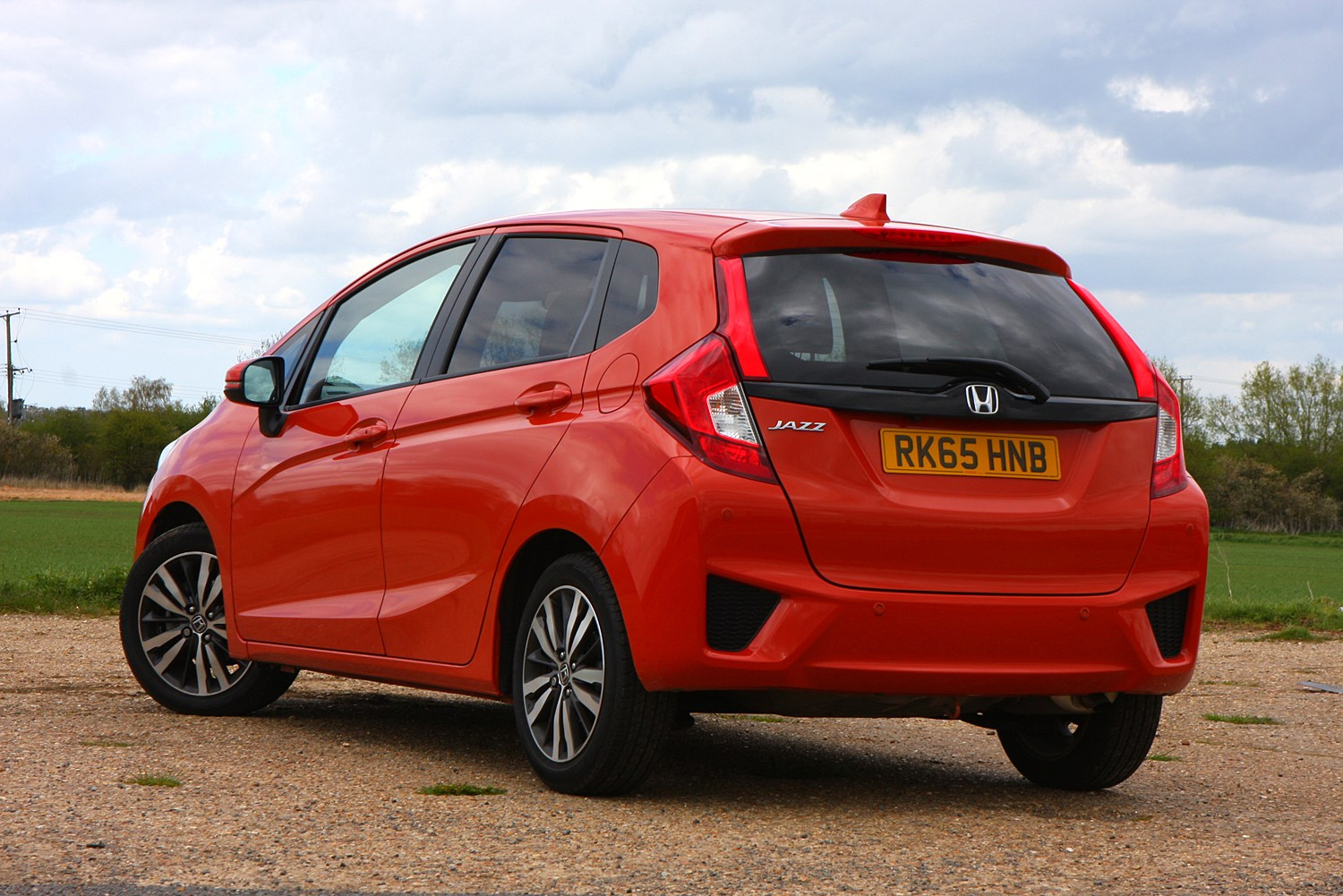 Honda jazz review parkers for Exterieur hond