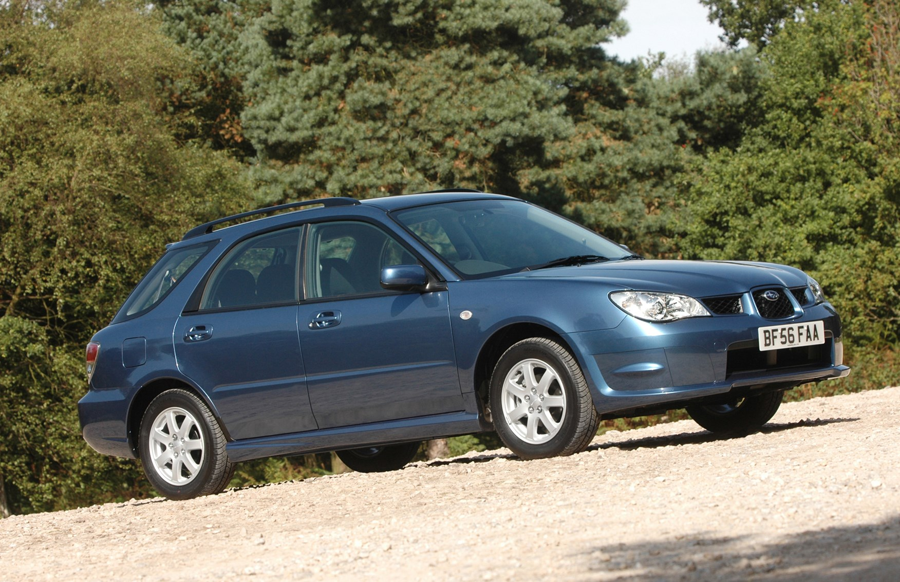 subaru impreza sports wagon review 2005 2008 parkers. Black Bedroom Furniture Sets. Home Design Ideas