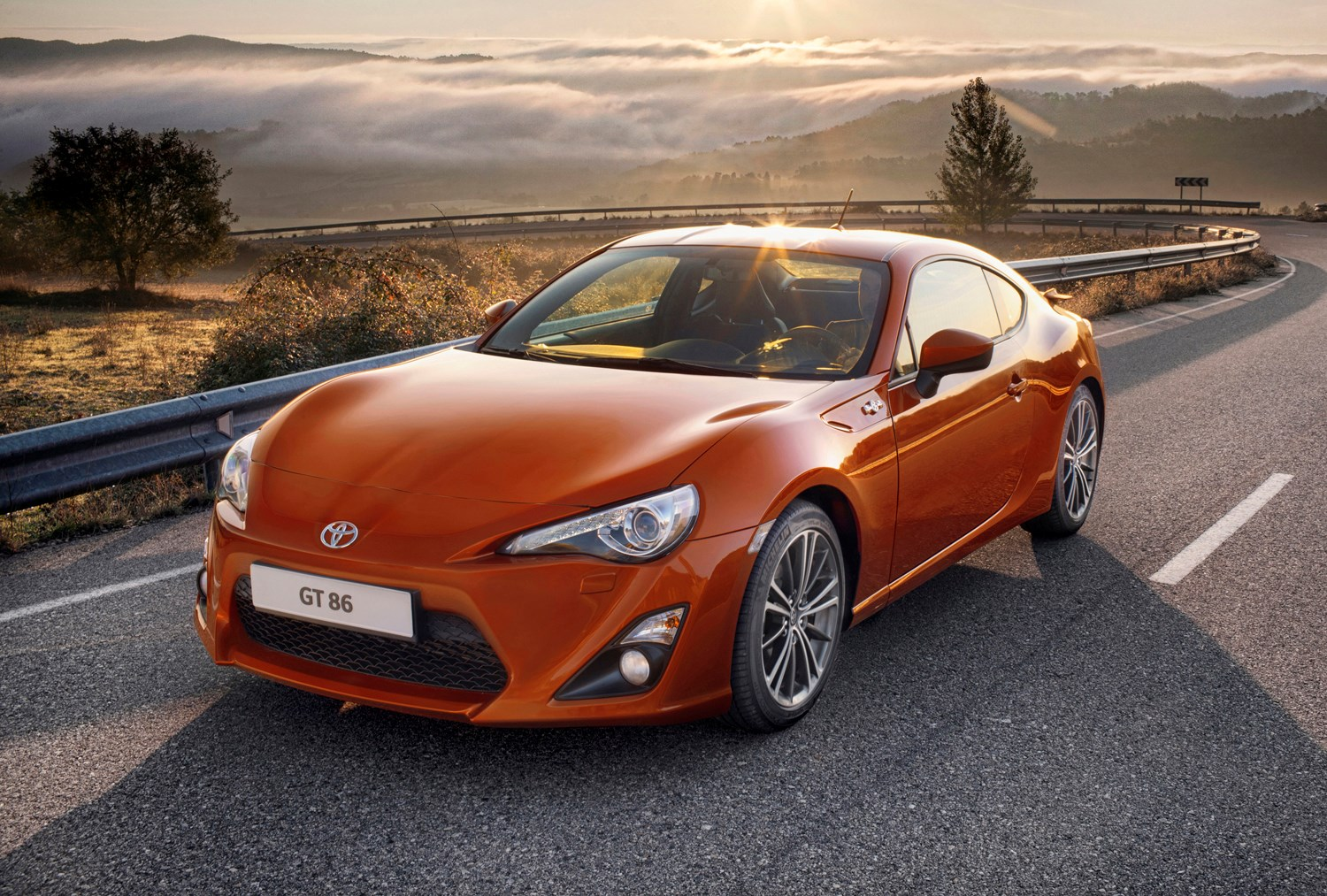 Toyota Gt86 2016 Driving