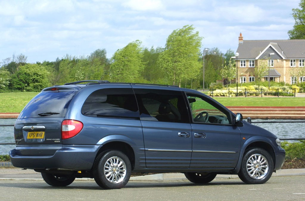 chrysler grand voyager estate review 2001 2008 parkers. Black Bedroom Furniture Sets. Home Design Ideas