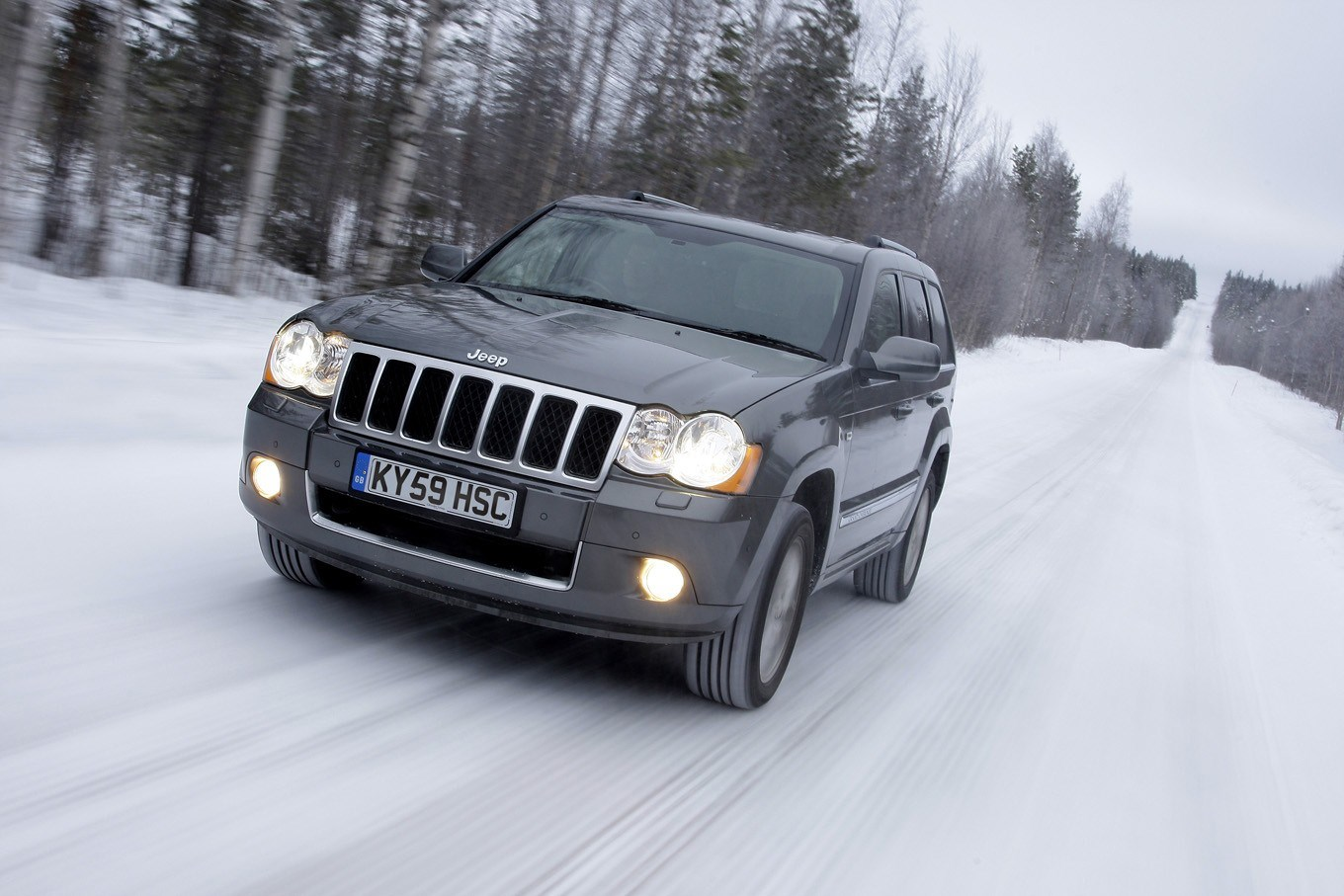 Jeep Grand Cherokee Station Wagon Review 2005 2010 Parkers How Much Is It To Insure