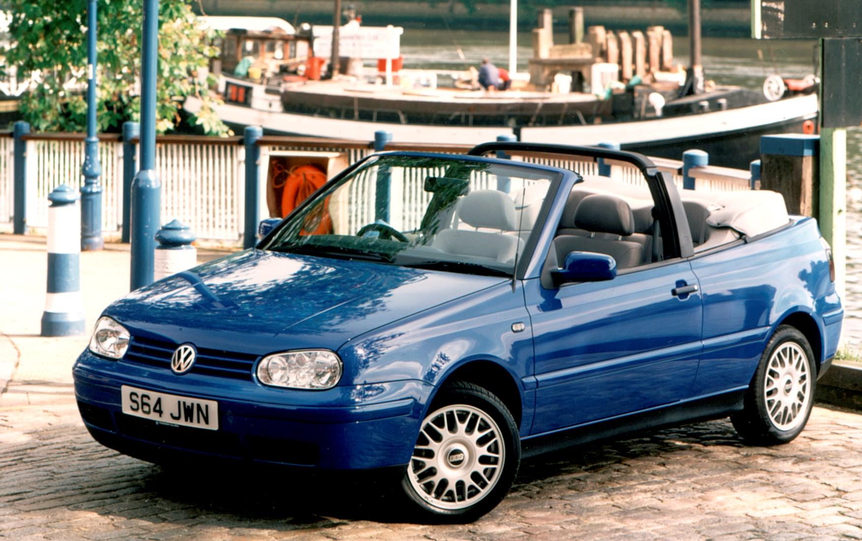 volkswagen golf cabriolet review 1994 2001 parkers. Black Bedroom Furniture Sets. Home Design Ideas