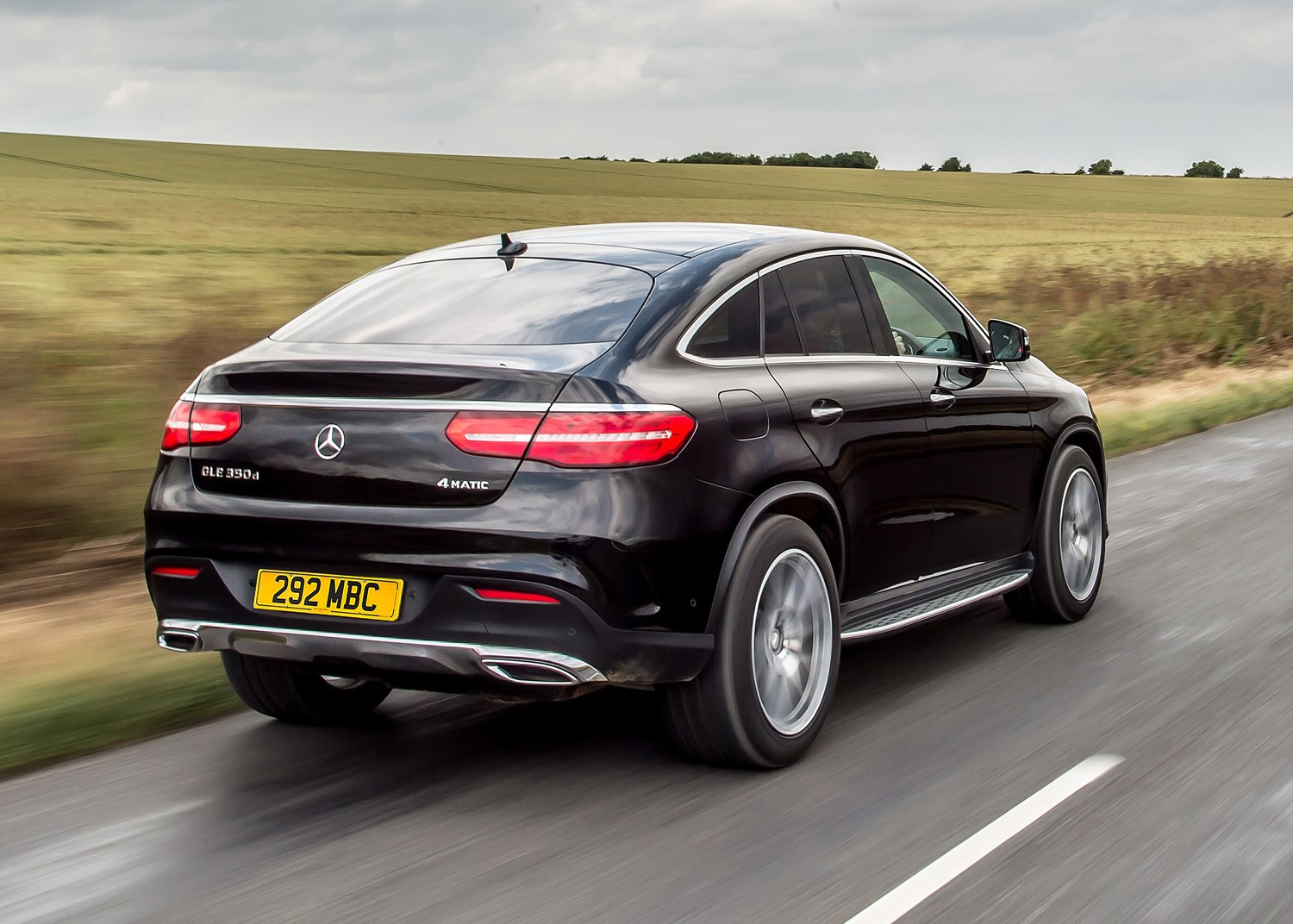 mercedes benz gle class coupe review 2015 parkers. Black Bedroom Furniture Sets. Home Design Ideas