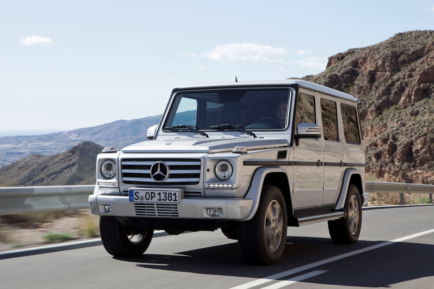 mercedes g class review summary parkers. Black Bedroom Furniture Sets. Home Design Ideas