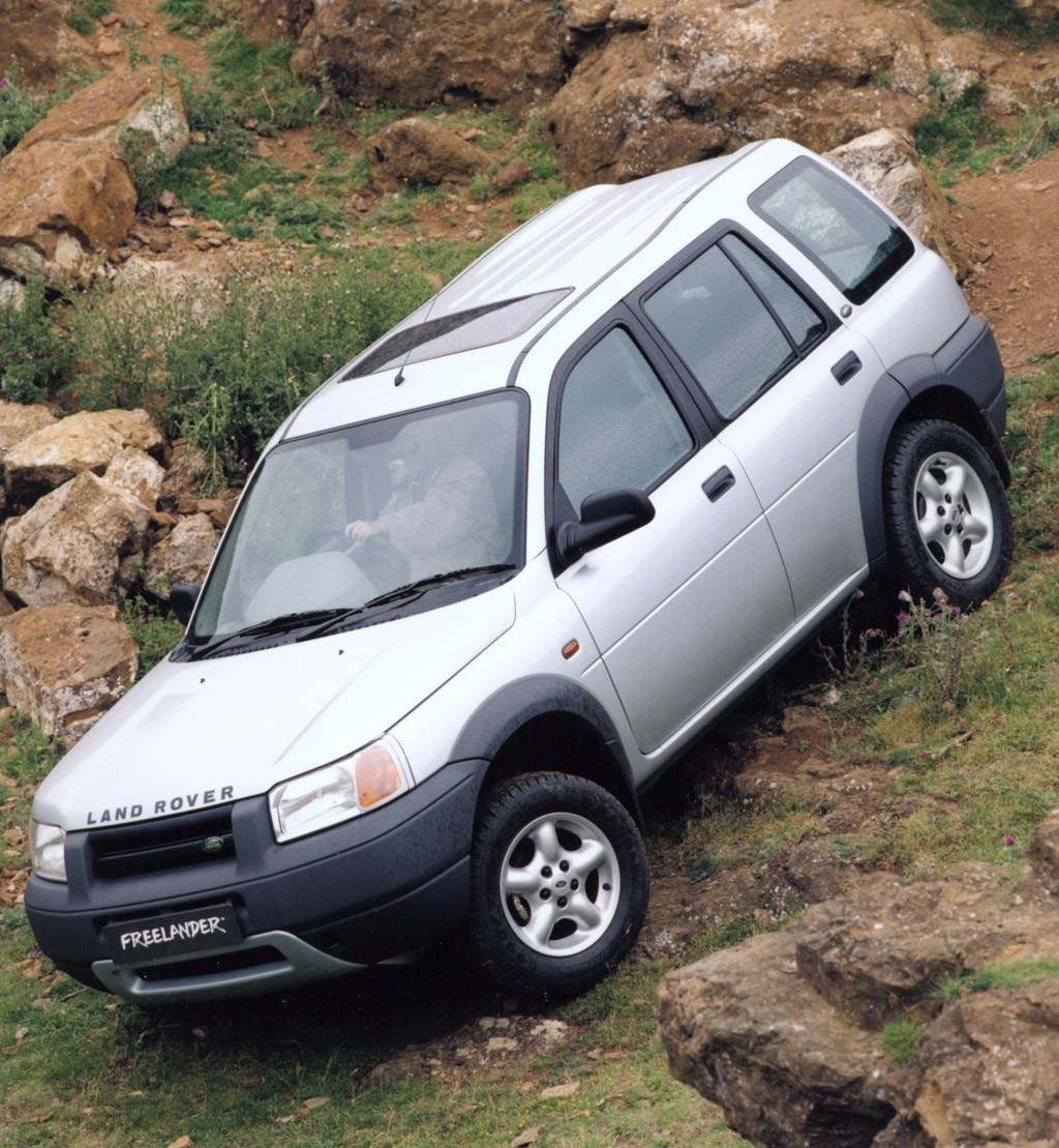 Land Rover Freelander Station Wagon Review (1997
