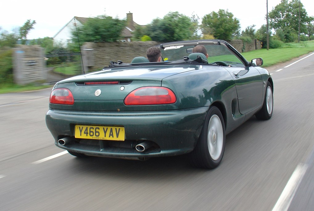 Used MG F Convertible (1995 - 2002) Engines | Parkers