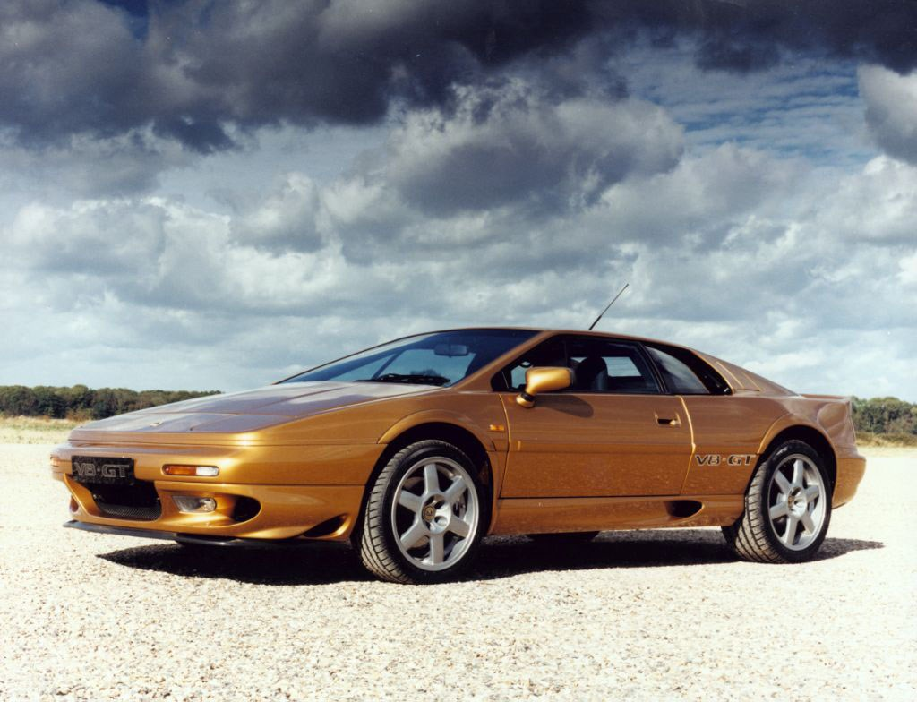lotus esprit coupe review 1984 2003 parkers. Black Bedroom Furniture Sets. Home Design Ideas
