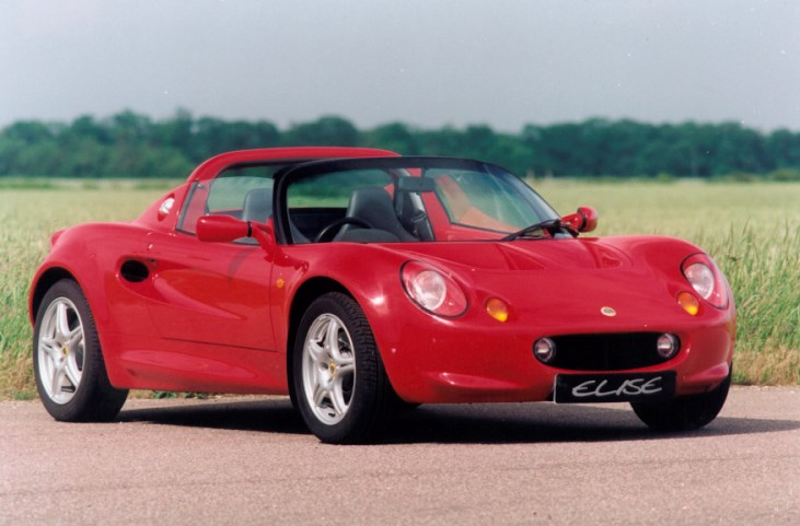 lotus elise convertible review 1996 2000 parkers. Black Bedroom Furniture Sets. Home Design Ideas