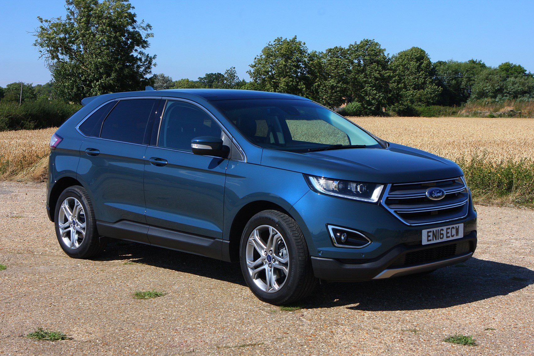 ford edge 4x4 review 2015 parkers. Black Bedroom Furniture Sets. Home Design Ideas