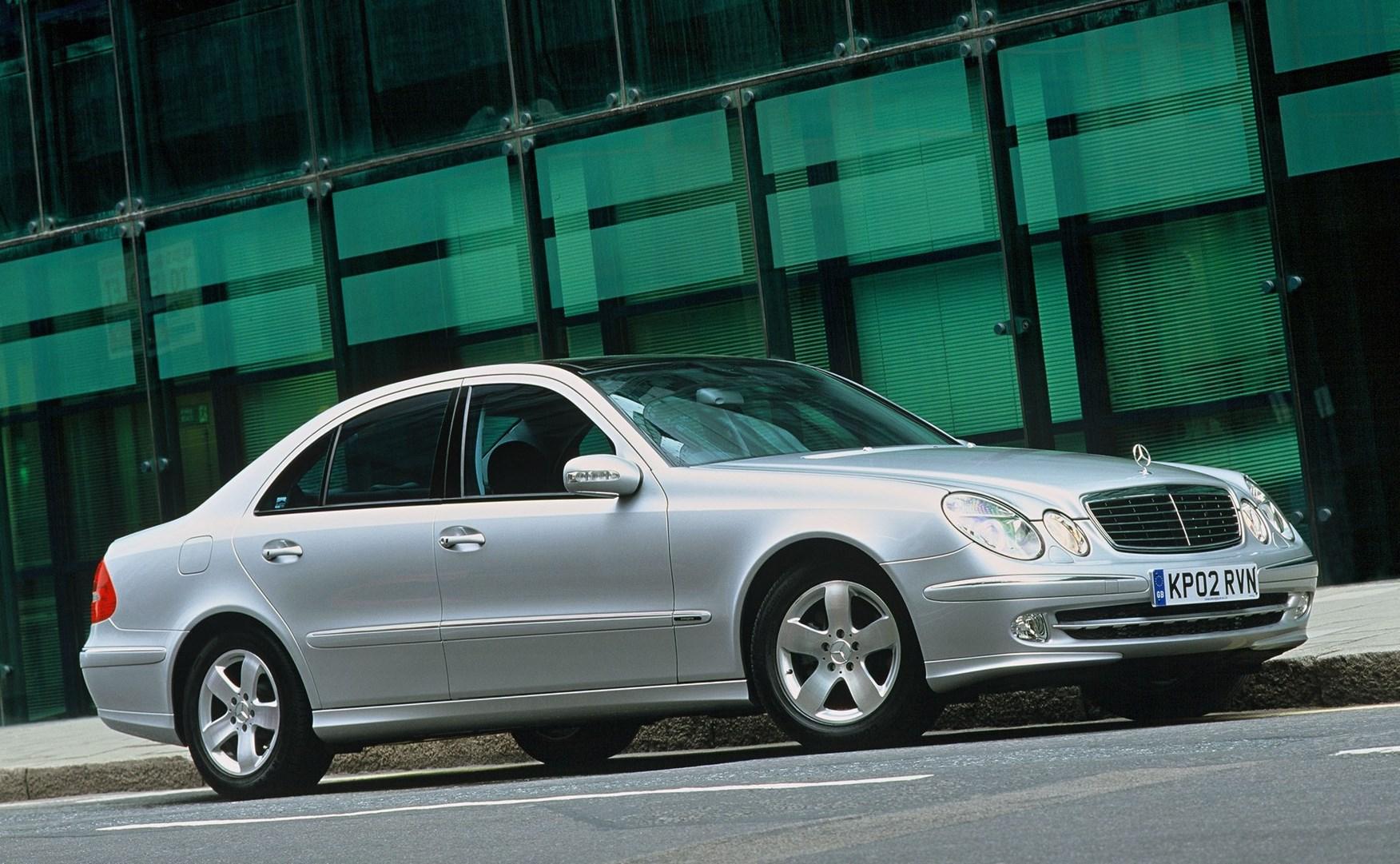 Mercedes benz e class saloon 2002 2008 running costs for How much is a mercedes benz e class