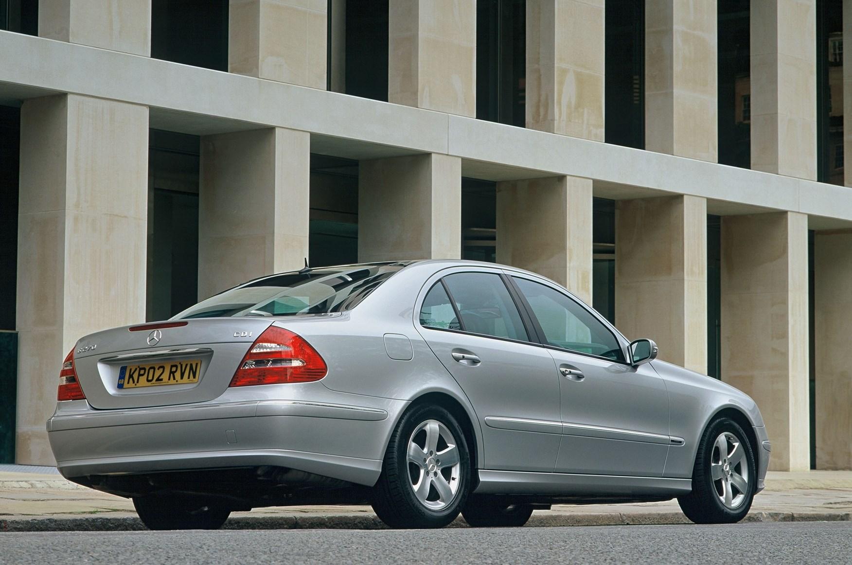 mercedes-benz e-class saloon review (2002 - 2008) | parkers