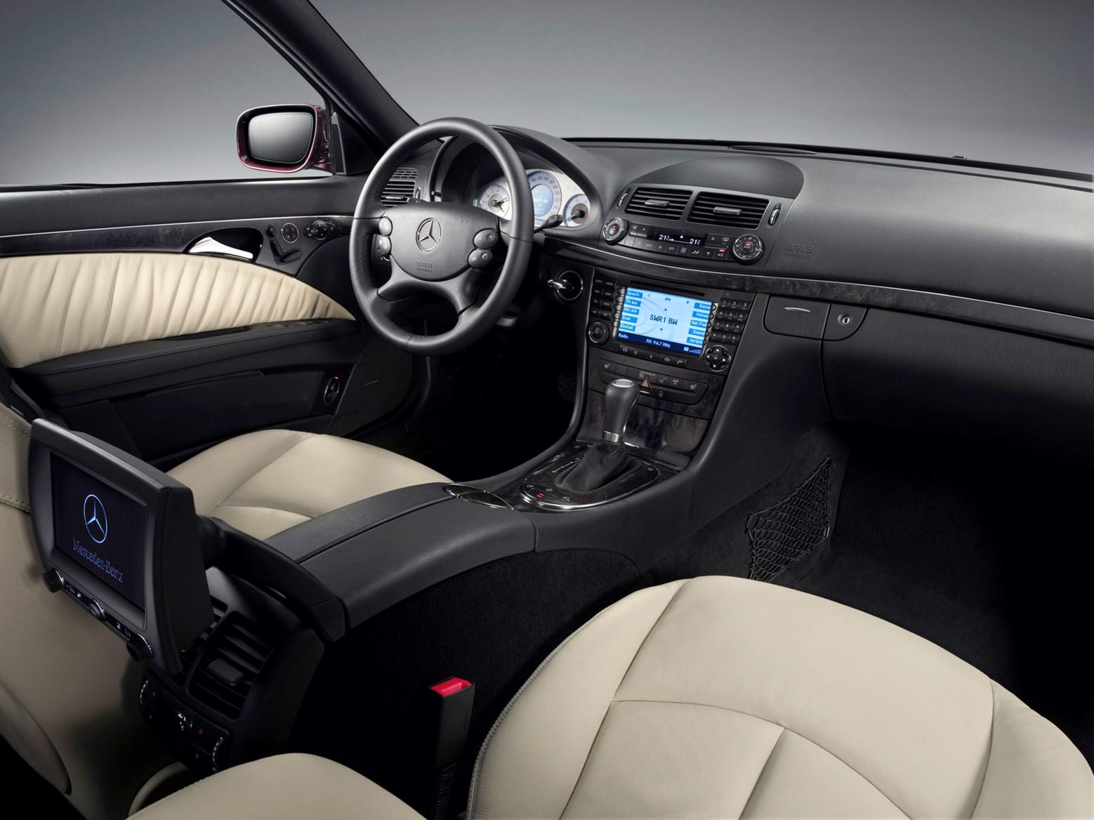 Mercedes Benz Saloon Interior