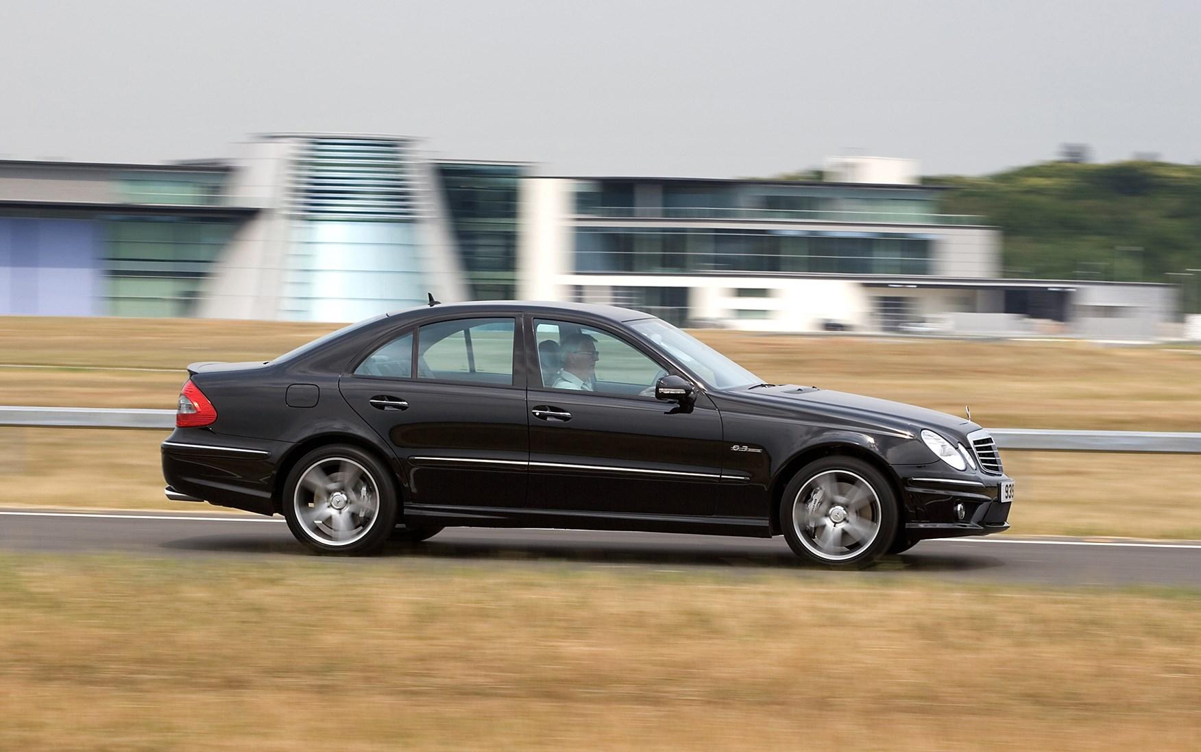 Mercedes benz e class amg 2002 2008 photos parkers for Mercedes benz 2002 e class