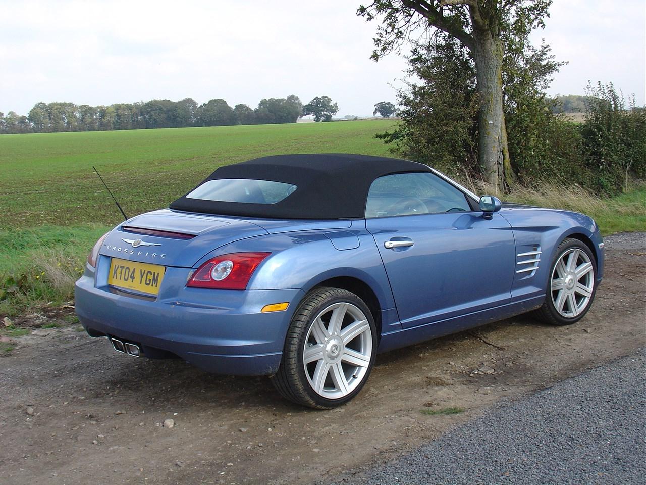 used chrysler crossfire roadster 2004 2008 review parkers. Black Bedroom Furniture Sets. Home Design Ideas