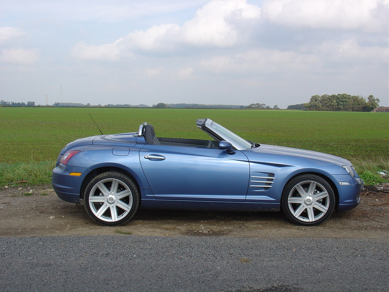 Purchase Used Chrysler Crossfire Convertible Grey: Chrysler Crossfire Roadster Review (2004 - 2008)