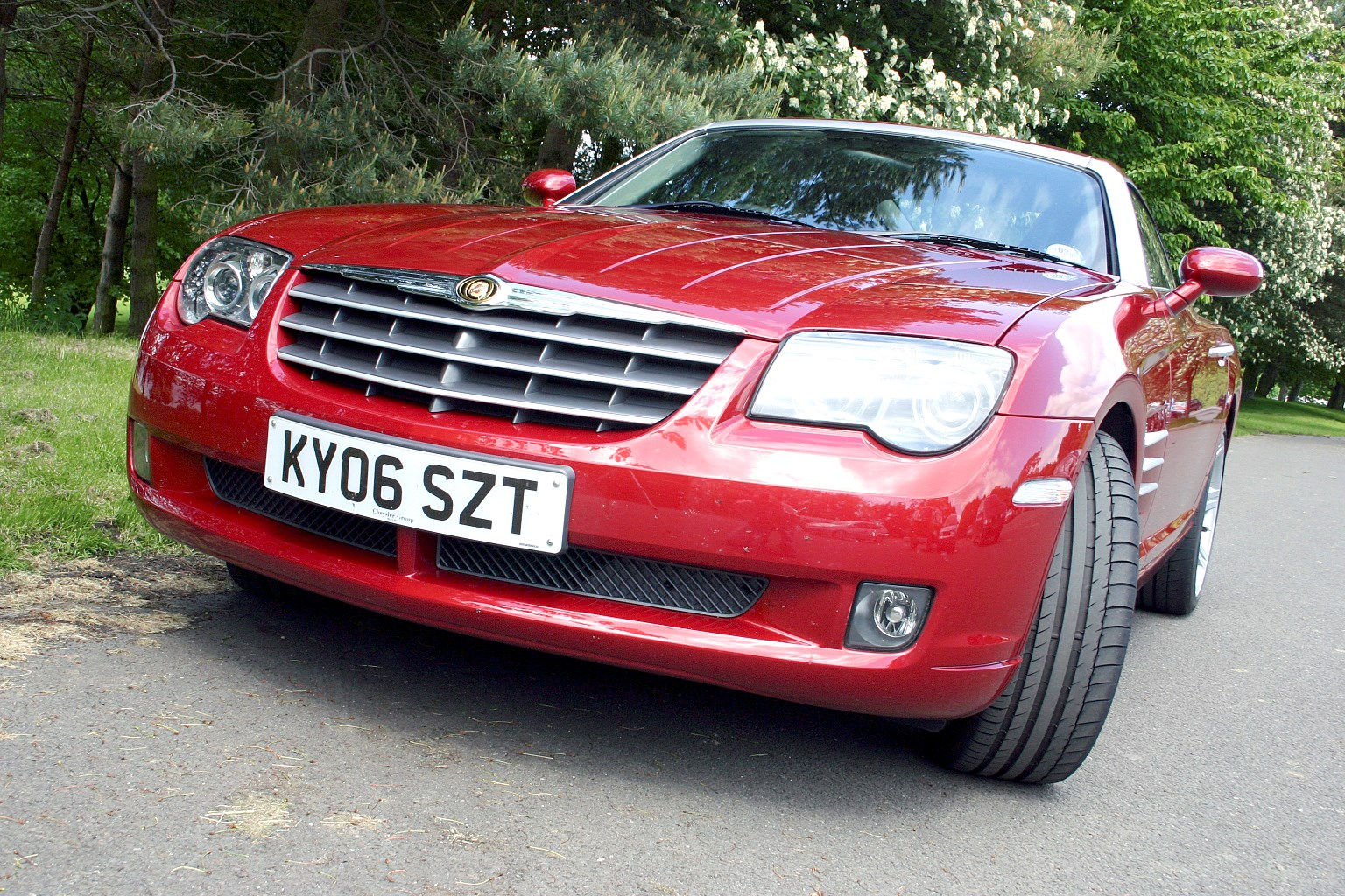 chrysler crossfire coup 2003 2008 features equipment. Black Bedroom Furniture Sets. Home Design Ideas