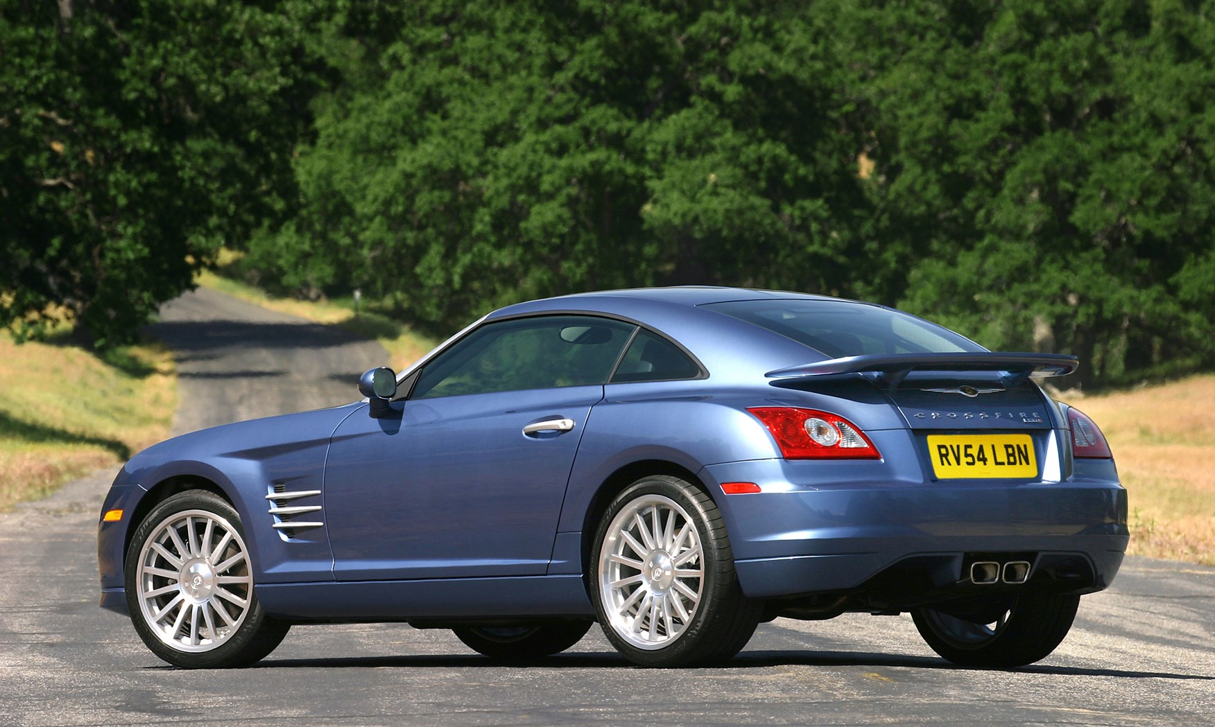 Chrysler Crossfire Coup 233 Review 2003 2008 Parkers