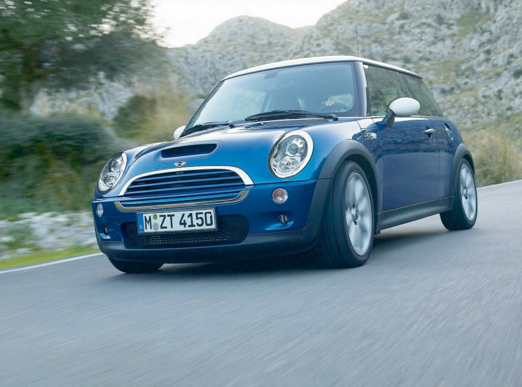 mini cooper s hatchback review 2002 2006 parkers. Black Bedroom Furniture Sets. Home Design Ideas