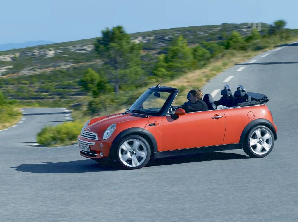 2004 convertible mini cooper