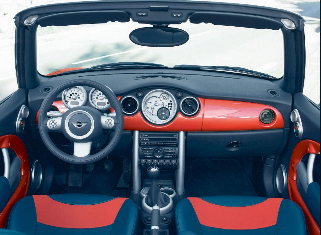 2010 mini cooper convertible interior
