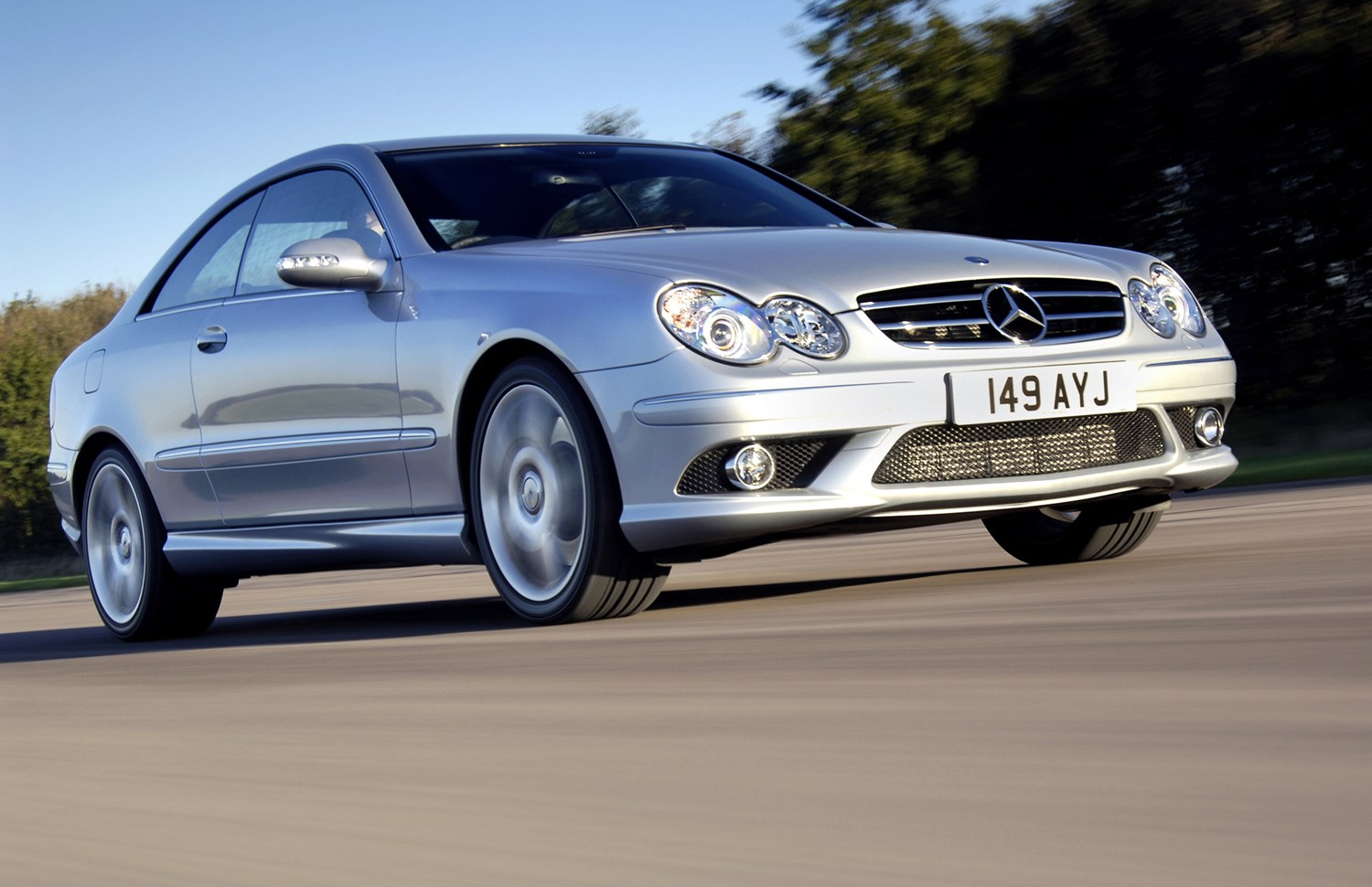 mercedes clk 220 cdi specifications