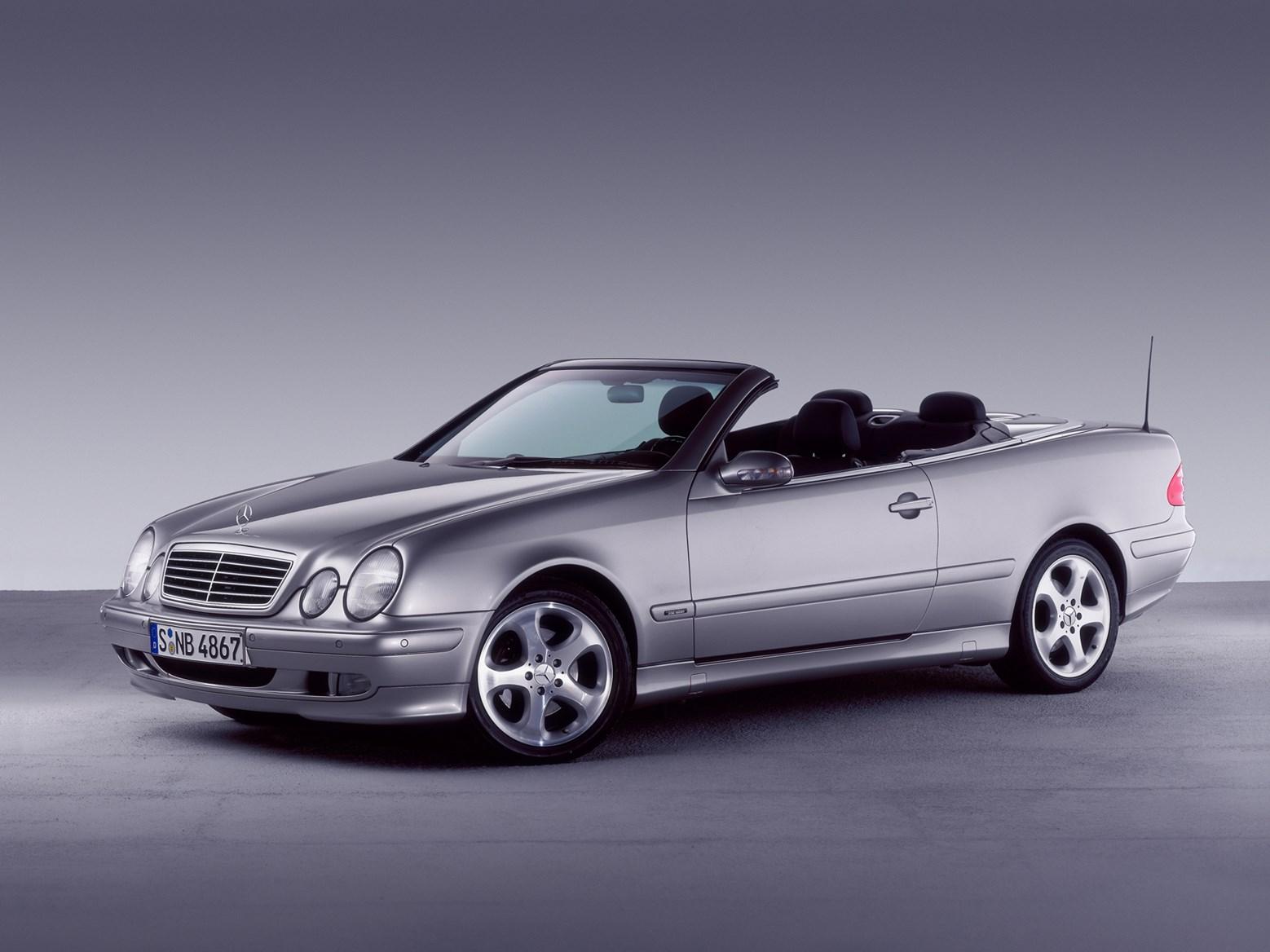 mercedes benz clk cabriolet review 1998 2003 parkers. Black Bedroom Furniture Sets. Home Design Ideas