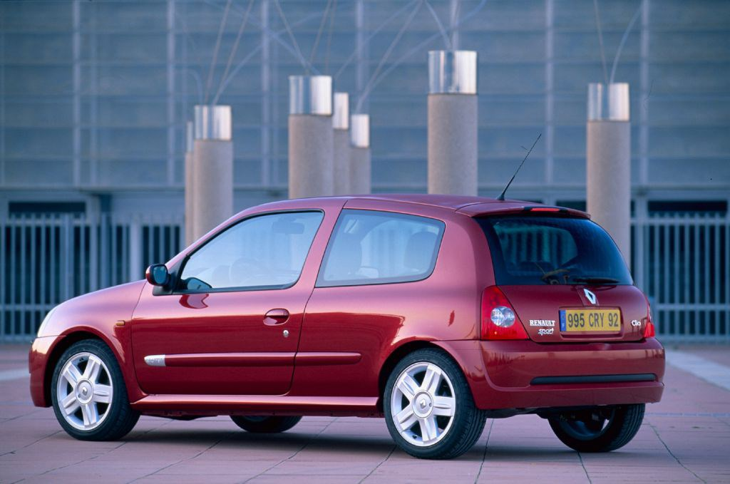 Masywnie Renault Clio Hatchback (2001 - 2008) Features, Equipment and NL04