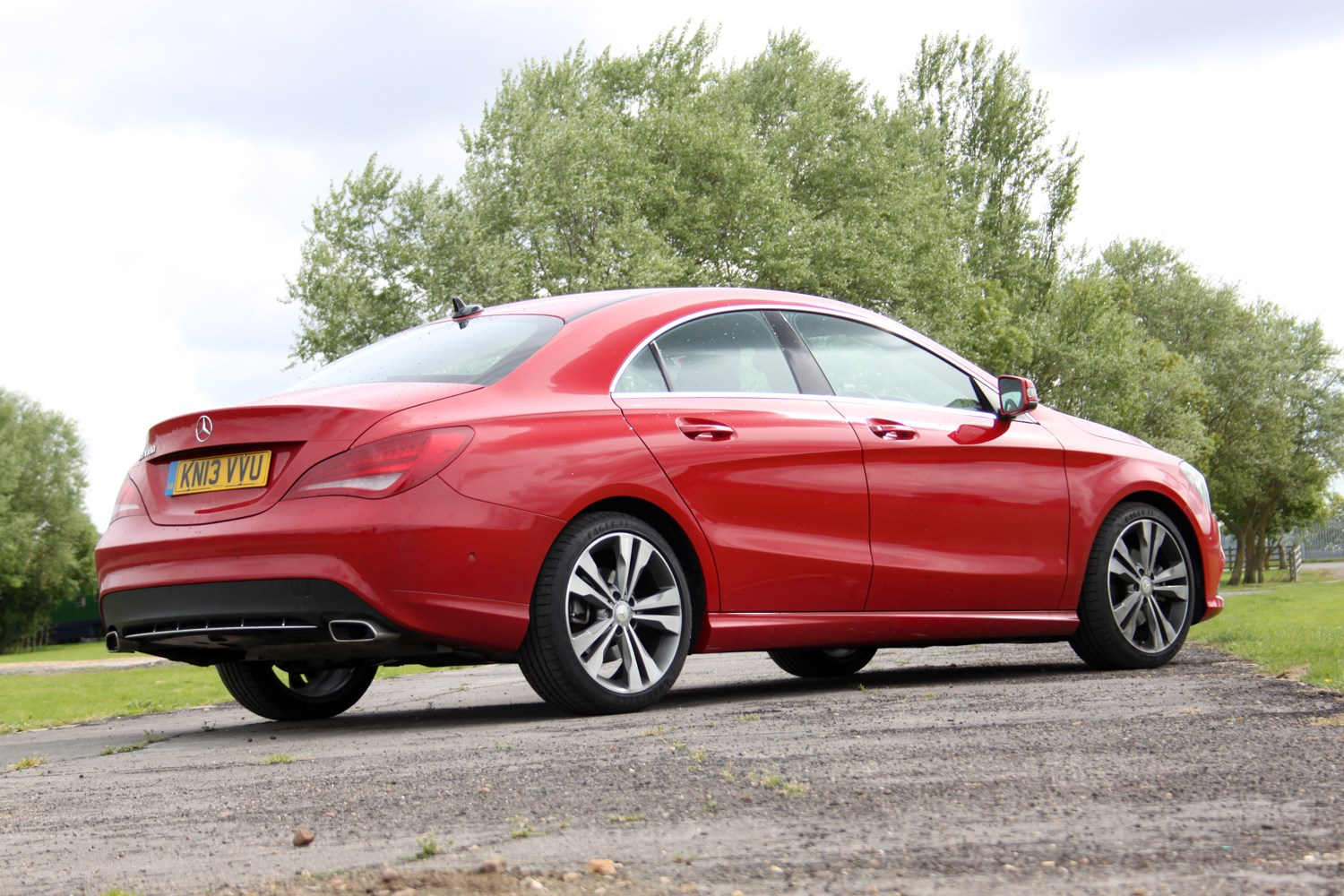 mercedes benz cla class coupe review 2013 parkers. Black Bedroom Furniture Sets. Home Design Ideas