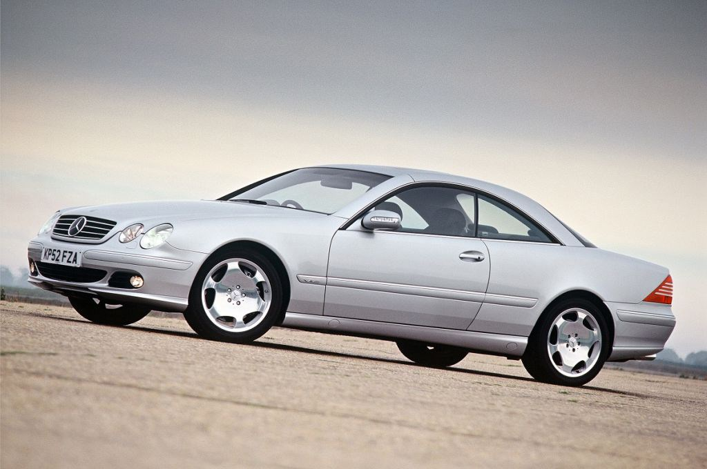 Mercedes benz cl coupe review 2000 2005 parkers for Mercedes benz cl500 review