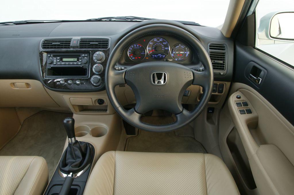 Honda civic ima saloon review 2003 2005 parkers for 2004 honda civic interior parts
