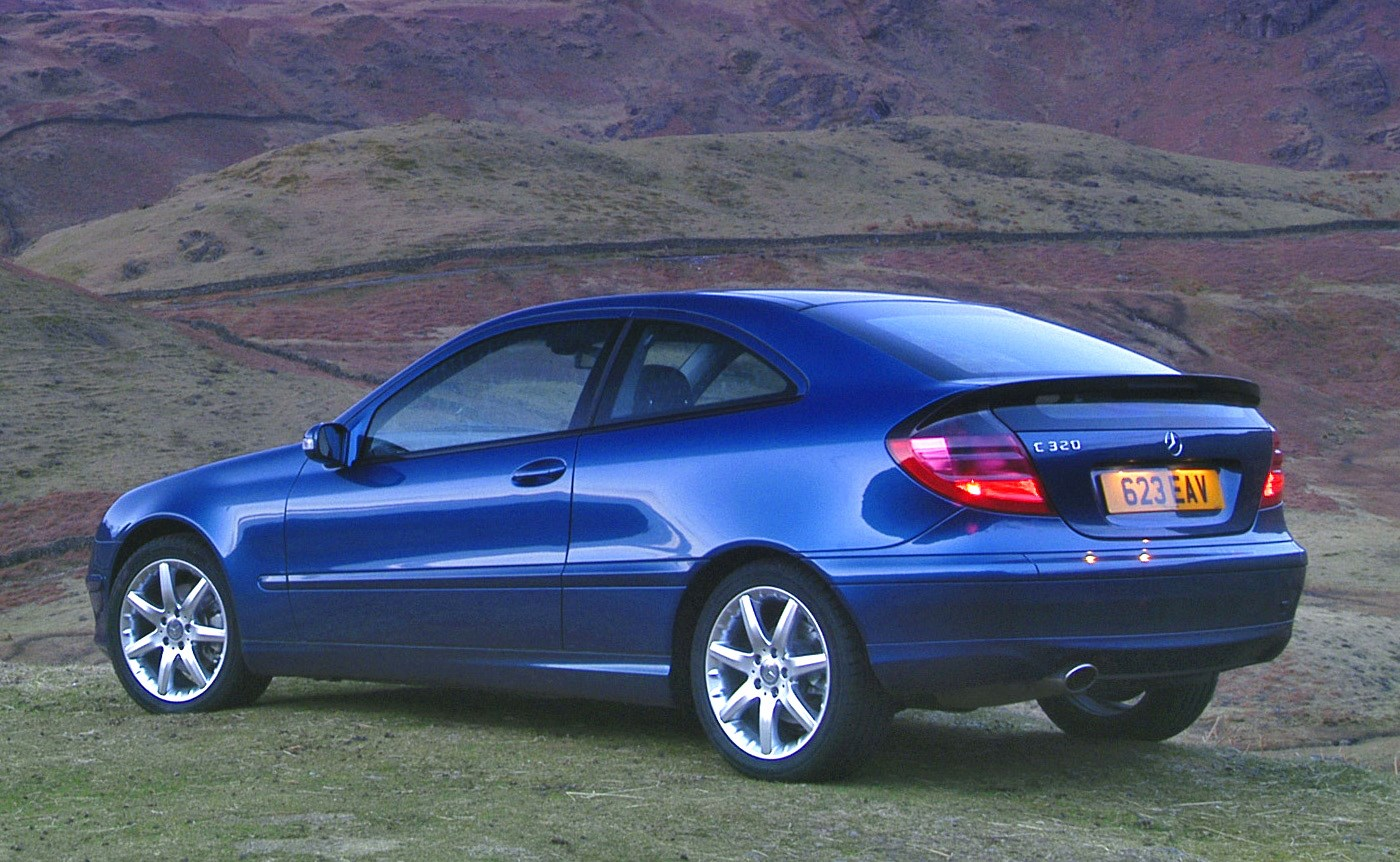 mercedes-benz c-class sports coupé review (2001 - 2008) | parkers