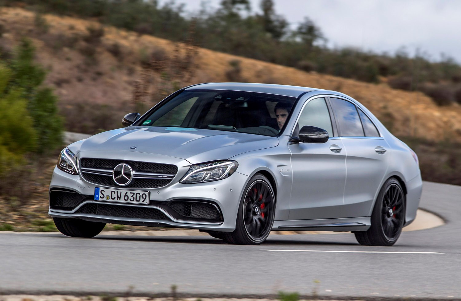 mercedes benz c class amg review 2015 parkers. Black Bedroom Furniture Sets. Home Design Ideas