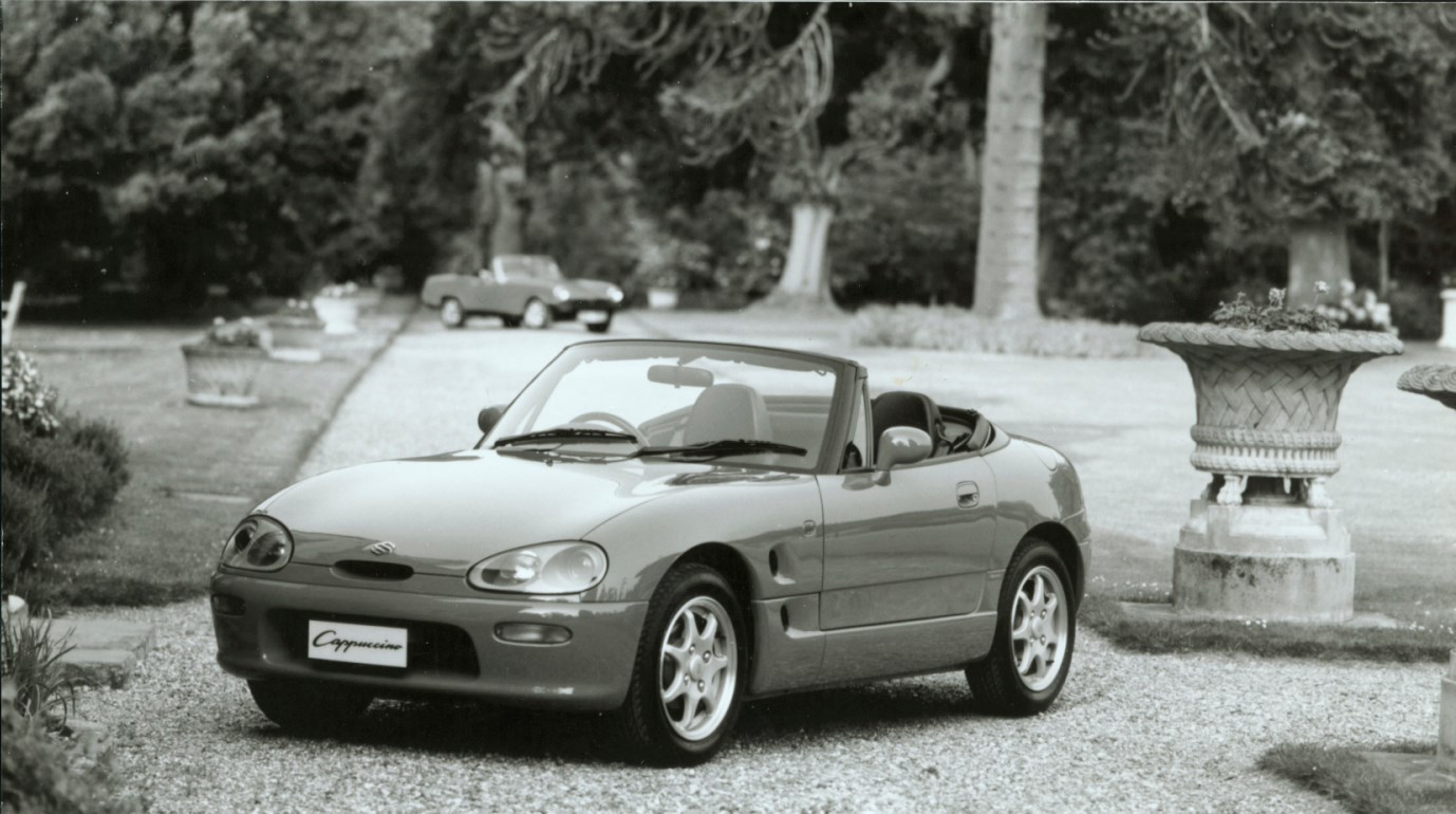 suzuki cappuccino convertible review 1993 1996 parkers. Black Bedroom Furniture Sets. Home Design Ideas