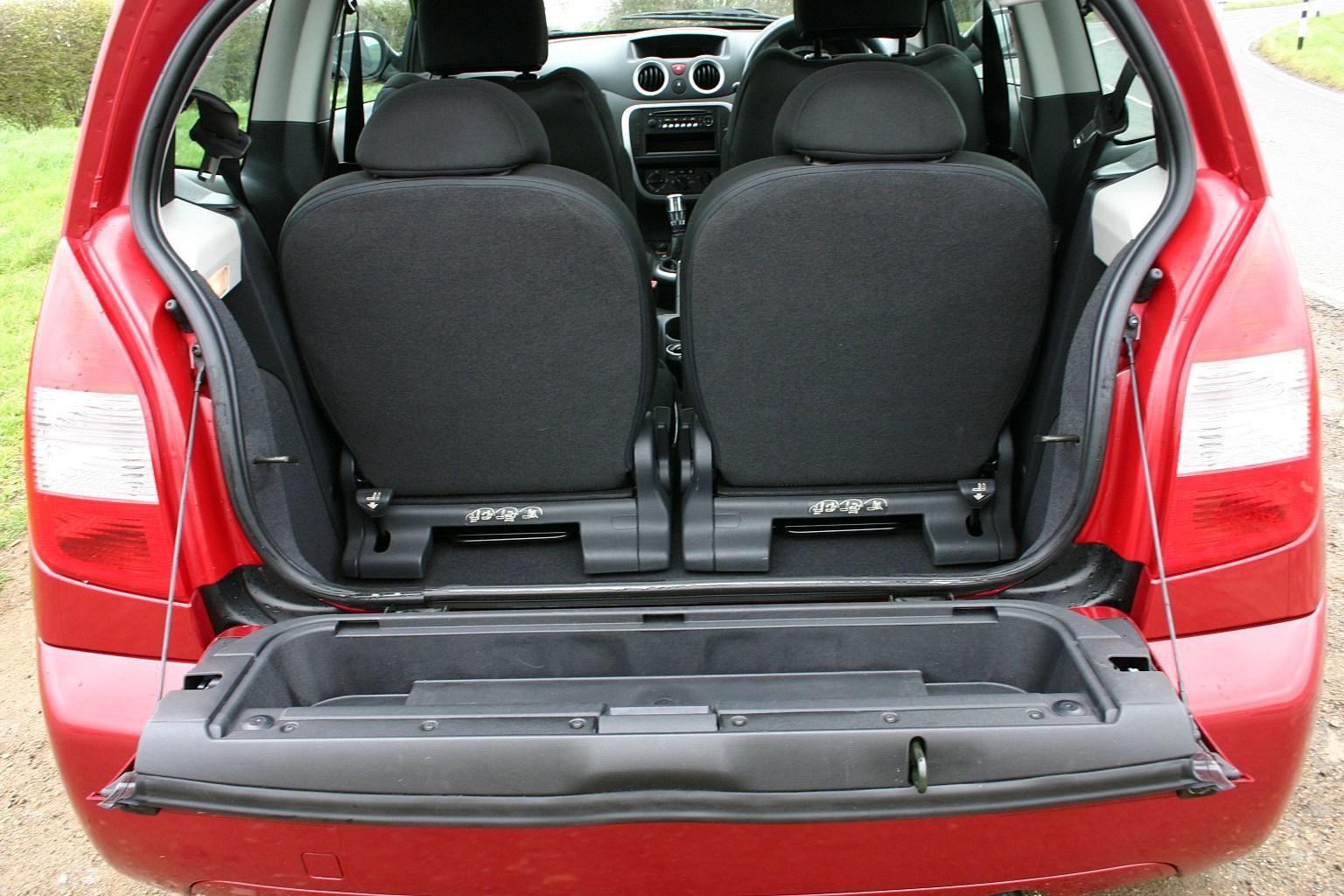 Used Citroën C2 Hatchback (2003 - 2009) Practicality | Parkers