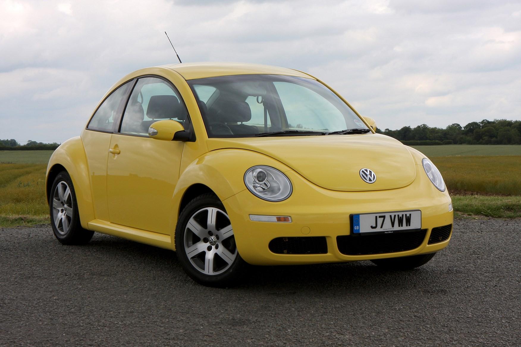 volkswagen beetle hatchback review 1999 2010 parkers. Black Bedroom Furniture Sets. Home Design Ideas