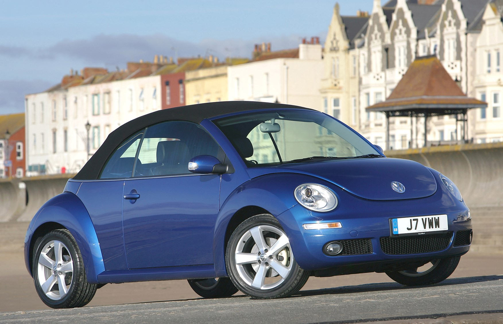 Volkswagen Beetle Cabriolet 2003 2010 Features Equipment And 2008 Front Suspension Components Car Parts Diagram Accessories Parkers